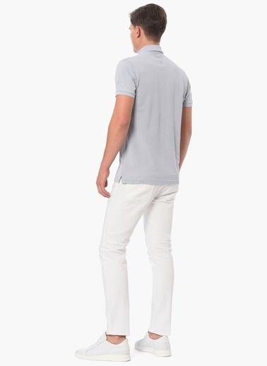 George Hogg Polo Yaka Tişört Taş